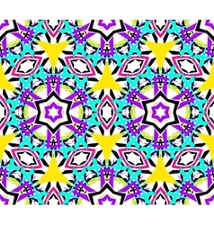 Kaleidoscopic Abstract Seamless Pattern vector image