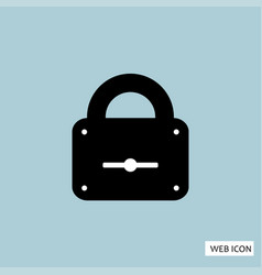 lock icon lock icon eps10 lock icon lock icon vector image