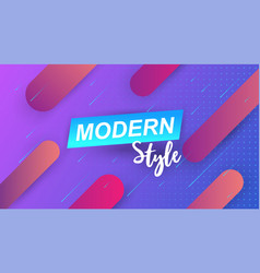 minimal geometric background vector image