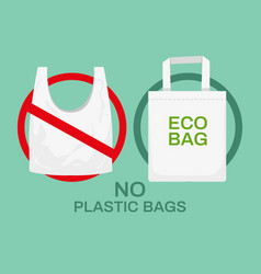 plastic or textile bags plastics rubbish vector image