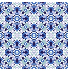 seamless decorative ornate pattern vector image