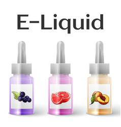 E-Liquid vector image