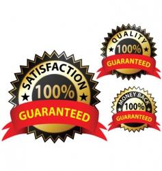 guaranteed vector image vector image