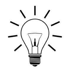 bulb - vector image vector image