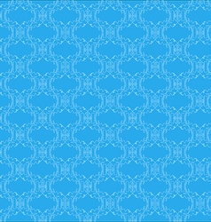 Pattern with abstract monkey vector image vector image