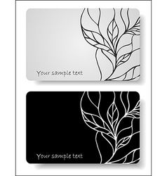 abstract cards vector image
