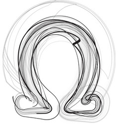 Abstract doodle symbol vector