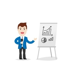 Business Training Speaker in vector