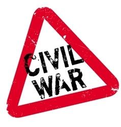 Civil War rubber stamp vector