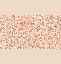 colorful chaotic abstract triangle mosaic pattern vector image