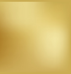 Gold background gradient foil yellow vector