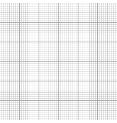 Gray graph grid seamless pattern vector image vector image