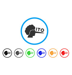 Ito lier icon vector