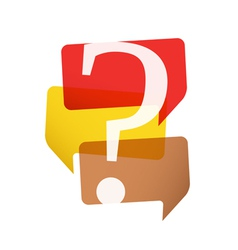 Question Mark vector image