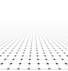Tiled infinite floor vector image