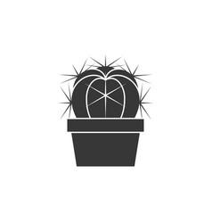 cactus icon vector image