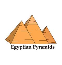 Egypt pyramid giza pyramid vector