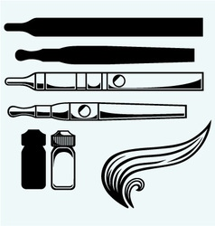 Electronic cigarettes vector image