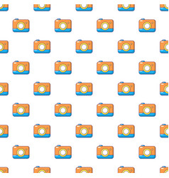 Photo camera pattern seamless vector