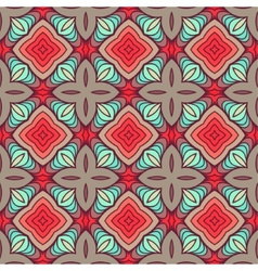 Retro Seamless Wallpaper vector image