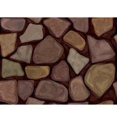 stone black vector image