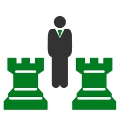 Strategy icon from Business Bicolor Set vector