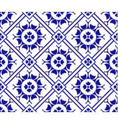 Tile pattern vector