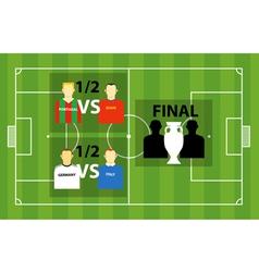 tournament vector image