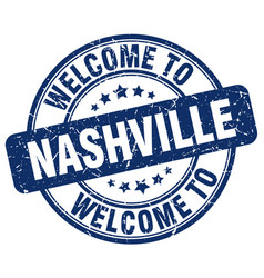 Welcome to nashville vector