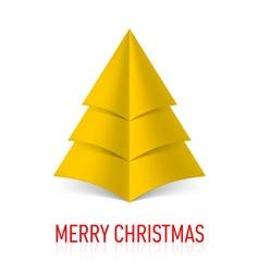 MERRY CHRISTMAS Corner paper 20 vector image vector image