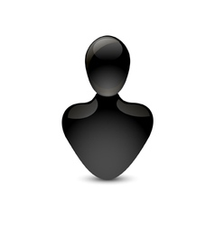 Person icon vector