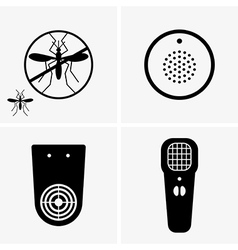 Electric mosquito repellent vector