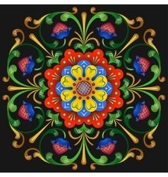 Folk pattern 1 vector