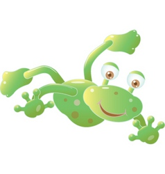 Frog illustration vector