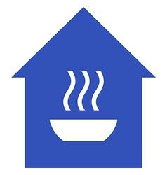 Hot meals vector