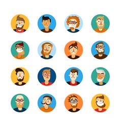 Men userpic set vector