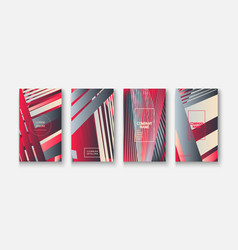 modern business geometric template banner for vector image
