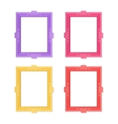 Photo frames concept vector image