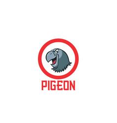 pigeon-logo vector image