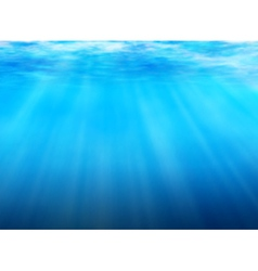 Underwater background vector image