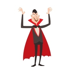 Vampire Dracula Halloween vector