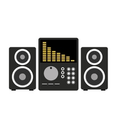 professional stereo isolated icon design vector image