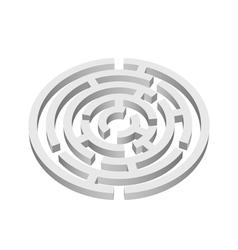 Labyrinth vector image