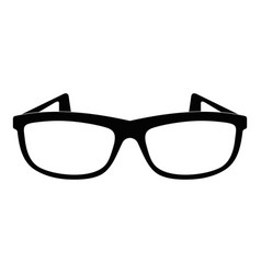 Modern spectacles icon simple style vector