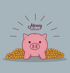 money savings design vector image