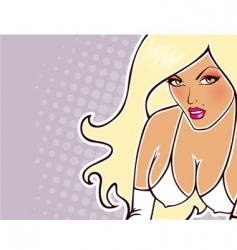 sexy women vector image
