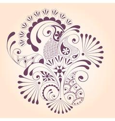 paisley design vector image