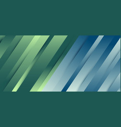 abstract premium diagonal line blue and green vector image