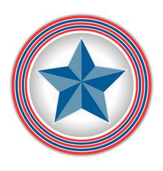 american star icon logo symbol vector image