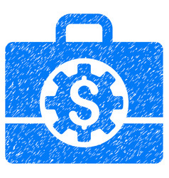 Bank career options grunge icon vector
